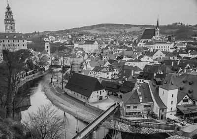 Cesky Krumlov - View from the Castle
