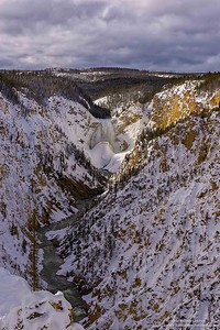 El cañon del rio Yellowstone / The Yellowstone River Canyon