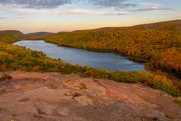Fall at Lake of the Clouds