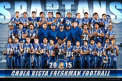 Freshman Football 2015 Original Adjustments