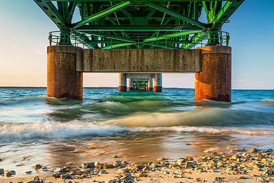 Mackinaw Bridge Perspective