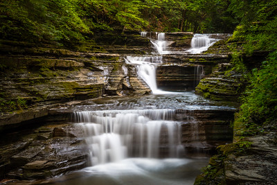 Buttermilk Falls State Park Waterfalls in Ithaca New York