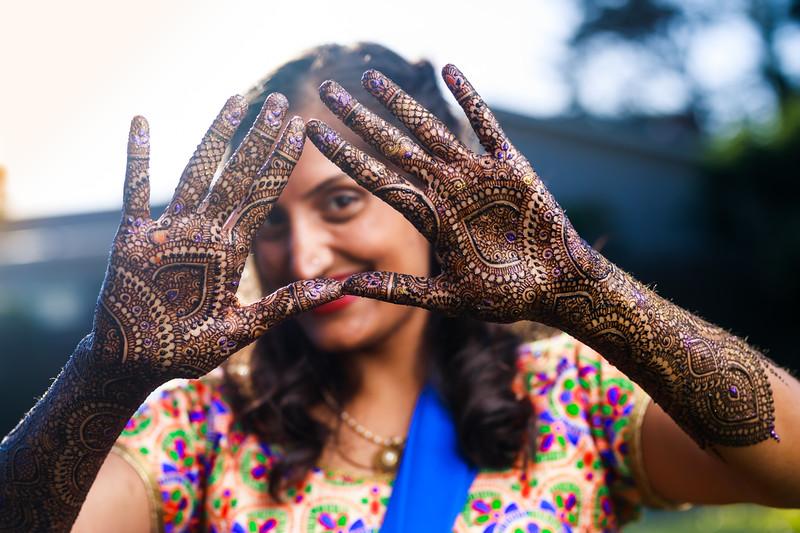 Nidhi Patel Henna Night