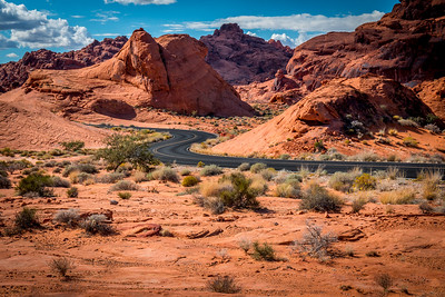 Valley of Fire Winding Road