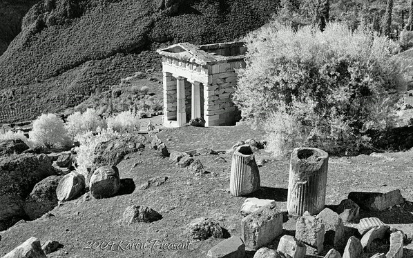 Delphi, Greece  (Infra Red)