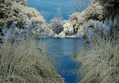 Infrared garden lake