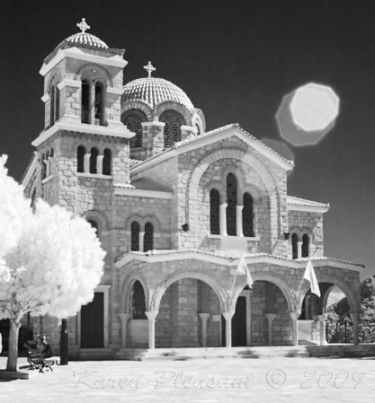Mainland Greece  (Infra Red)