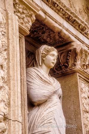 Areti (Excellence), Library of Celsus, Ephesus