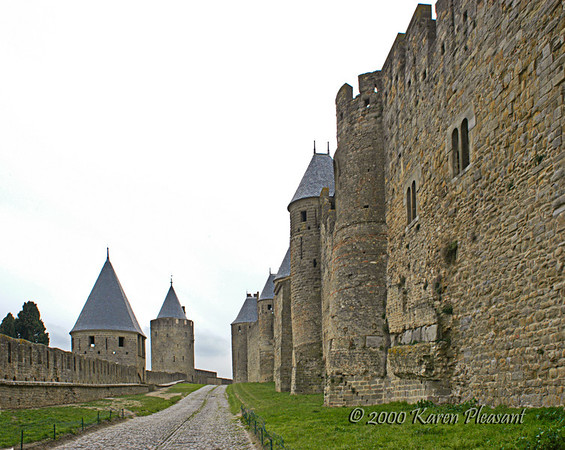 Medieval fortress, Carcassonne