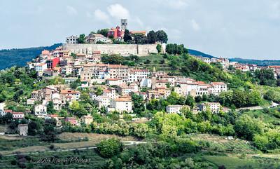 Medieval town of Motovun