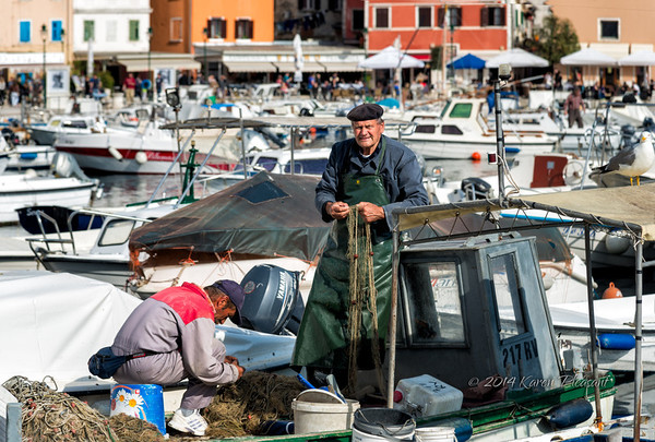 Fishermen, Rovinj