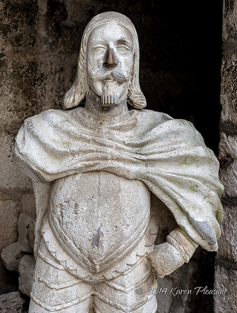 Statue in Diocletian's Palace