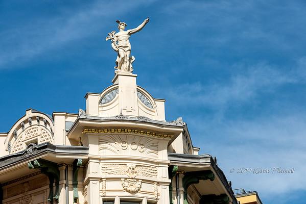 Architectural detail - Ljubljana