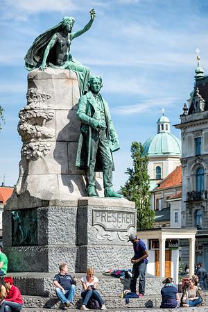 Peresen Square, Ljubljana