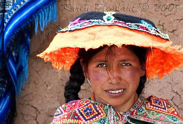 Local woman, Peru