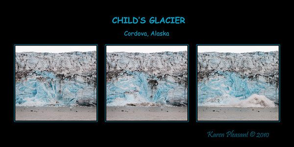 Child's Glacier, Cordova