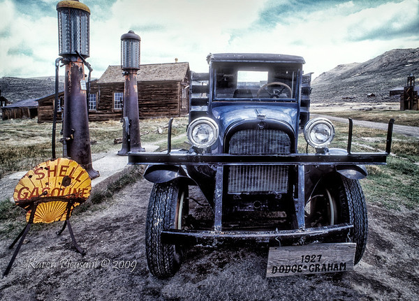 Bodie State Historic Park -  1927 Dodge Graham