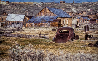 Bodie State Historic Park -  Old buildings