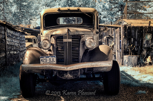 Old Truck, Guffy, Colorado