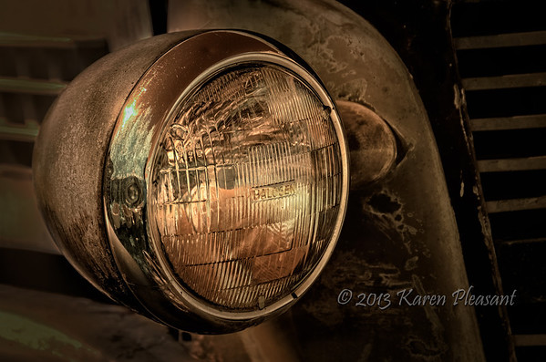 Old Headlight, Guffy, Colorado