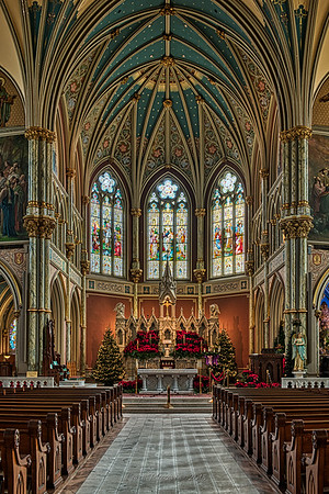 The Cathedral of St. John the Baptist - High Altar & Apse
