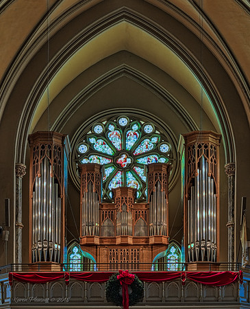 The Cathedral of St. John the Baptist  - Rear nave & organ loft