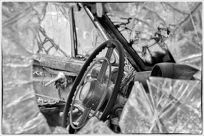 The Old Car City - Black-and-white
