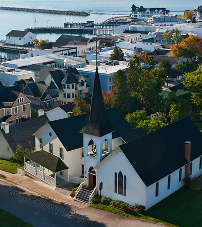 View from Fort Mackinac
