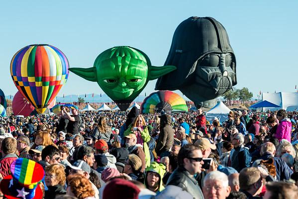 Darth Vader and Yoda