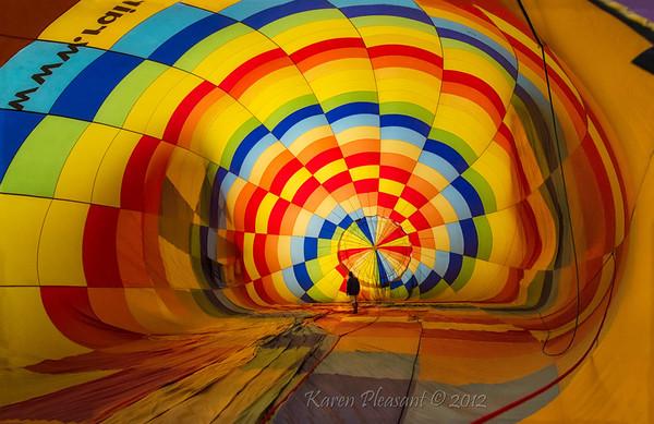 Inside the Balloon!