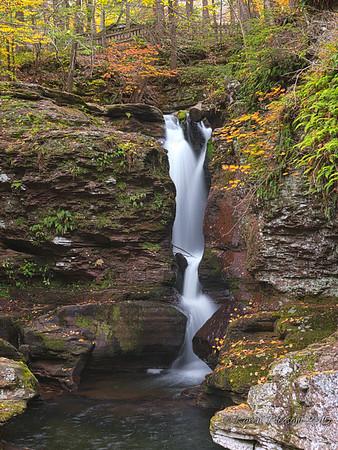 Adam's Falls, Ricketts Glen State Park