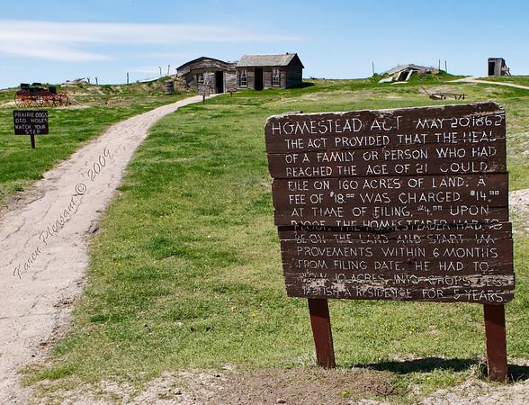 Old Homestead, Badlands