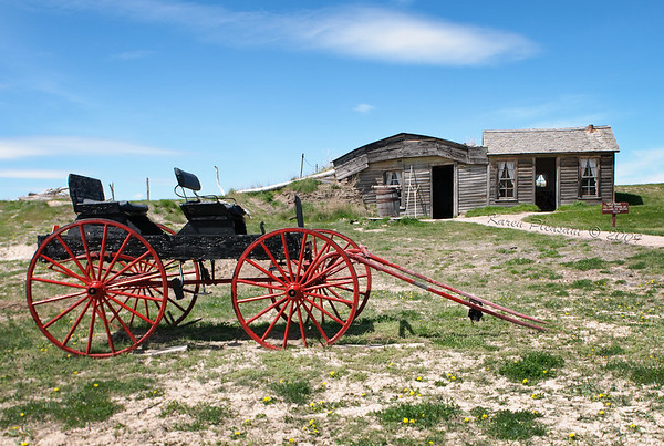 Old Homestead, Badlands