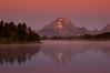 Mount Moran  @ dawn