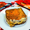 Pulled pork and cheese toasted sambo