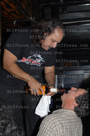 Porn actor Ron Jeremy at the Cheetahs club in Hollywood.