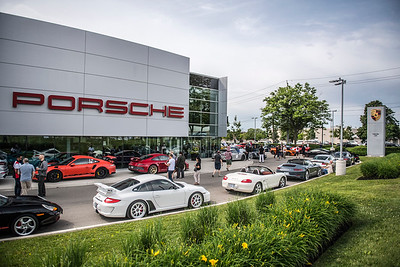 Porsche Oakville Cars and Coffee