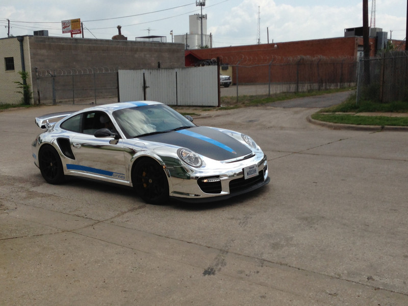 Chrome Porsche, Dallas, TX