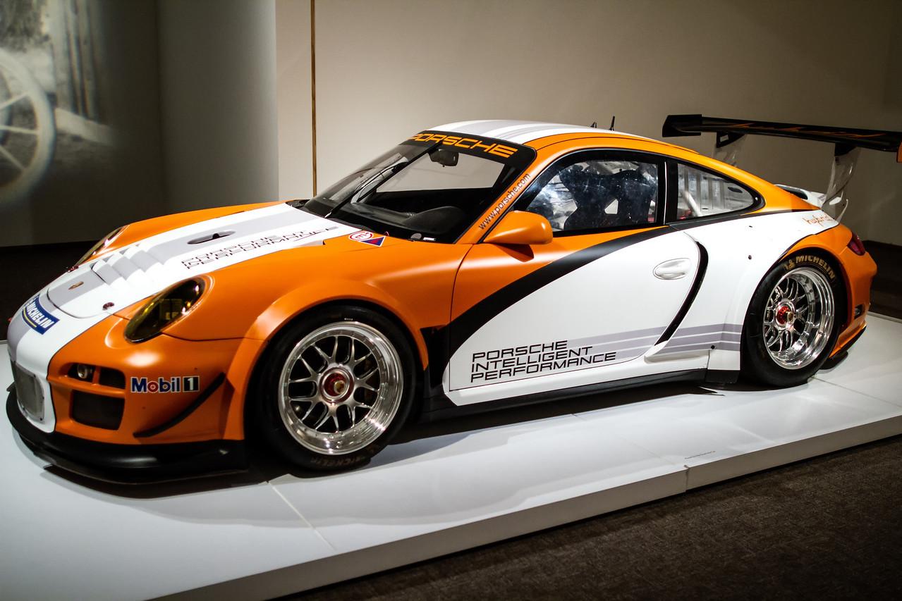 Porsche Type 911 GT3 R Hybrid Race Car Prototype, 2010.