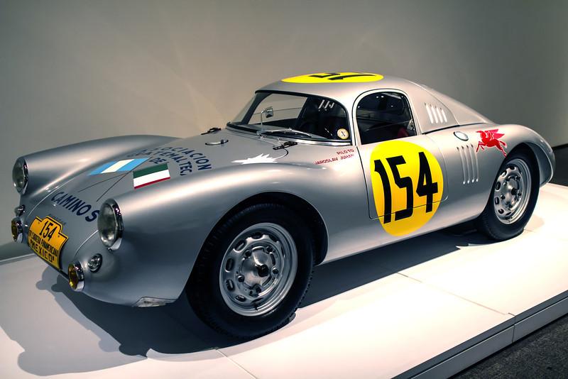 Porsche Type 550 Prototype, 1953.