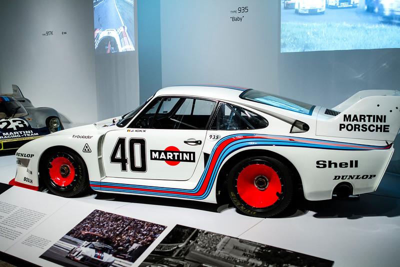 """Porsche Type 935 """"Baby,"""" 1977."""