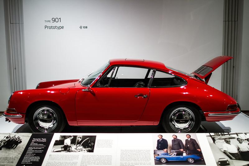 Porsche Type 901 Prototype, 1963.