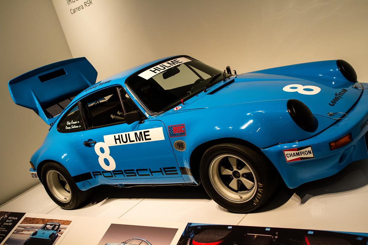 IROC Porsche Type 911 Carrera RSR, 1974.