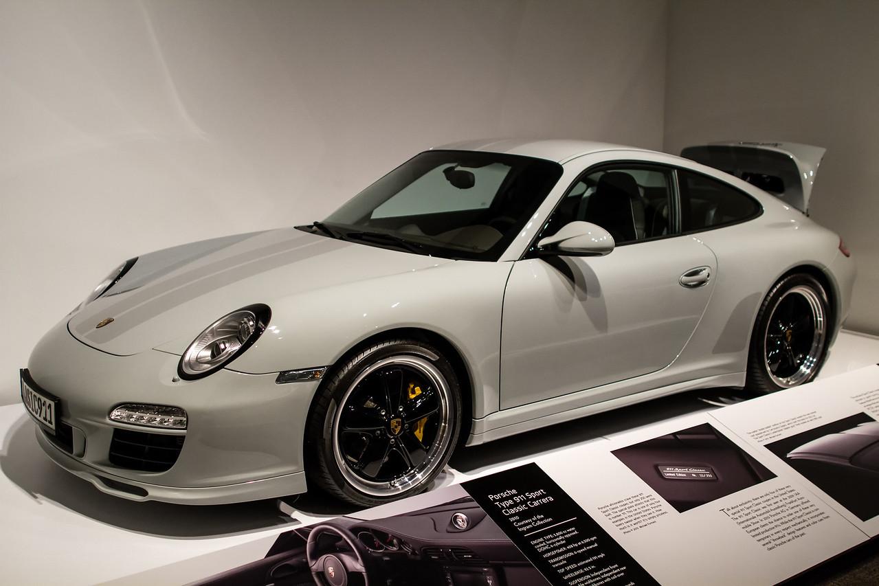 Porsche Type 911 Sport Classic Carrera, 2010.