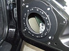 "Speaker adapter bracket   from  <a href=""http://www.car-speaker-adapters.com/items.php?id=SAK066""> Car-Speaker-Adapters.com</a>   mounted to door"