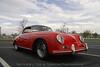 Porsche 356 Speedster with hardtop