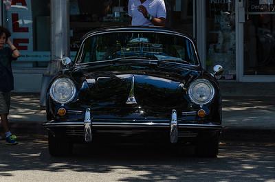 Porsches on Sunset 2015