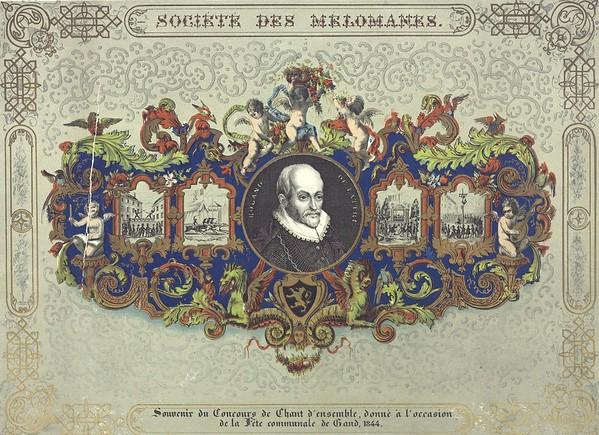 Koormaatschappij de Melomanen, 1844.
