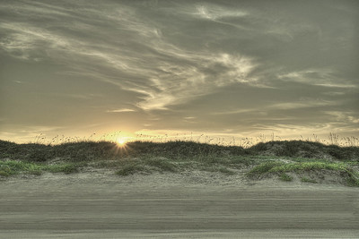 Dunes Sunset Rays