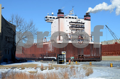 Burns Harbor passing UWM School of Freshwater Sciences Jan 2016